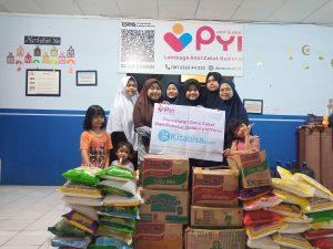 Bantuan Pangan Yatim Asrama Yatim Bojongsoang