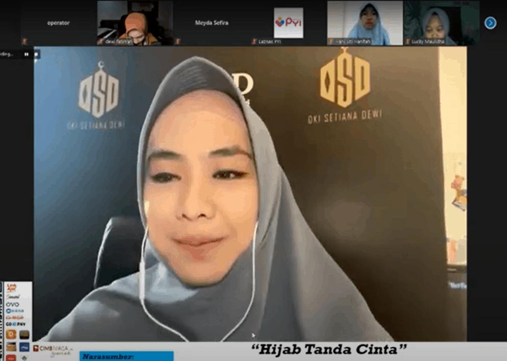 Kajian Online Bersama Oki Setiana Dewi