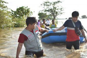 Proses Evakuasi Warga