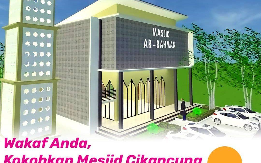 Peluang Amal Jariyah Melalui Wakaf Pembangunan Masjid