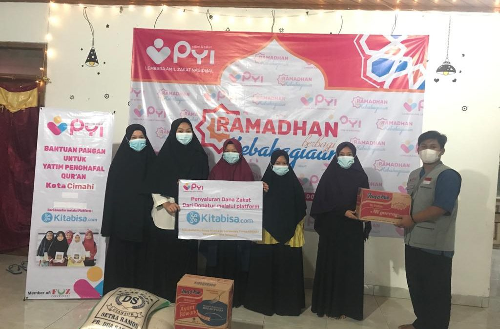 Panti Yatim Salurkan Bantuan Pangan Untuk Yatim penghafal Al Qur'an Cimahi