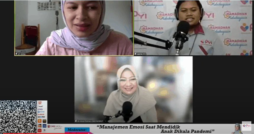 webinar Parenting Bersama Dr. Aisah Dahlan, CHt
